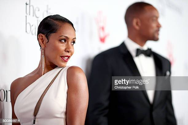 fab82700589a Actress Jada Pinkett Smith attends the 2nd Annual Diamond Ball hosted by  Rihanna and The Clara