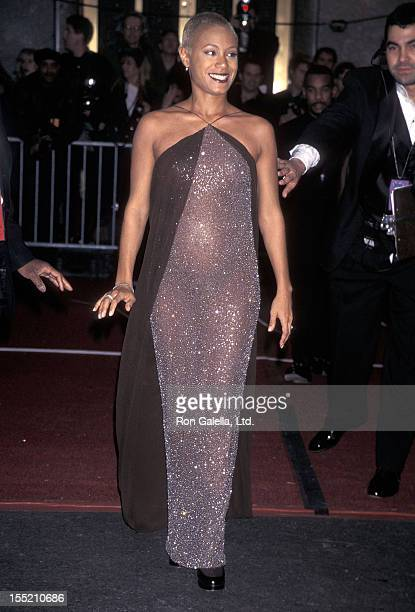 Actress Jada Pinkett Smith attends the 40th Annual Grammy Awards on February 25 1998 at Radio City Music Hall in New York City