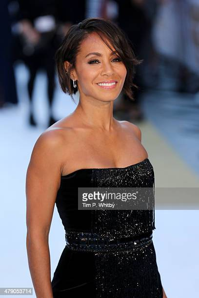 Actress Jada Pinkett Smith attends the European Premiere of Magic Mike XXL at Vue West End on June 30 2015 in London England