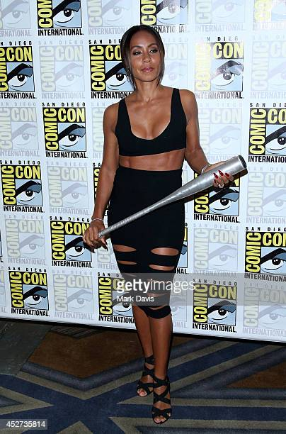 Actress Jada Pinkett Smith attends the Gotham press line during ComicCon International 2014 at Hilton Bayfront on July 26 2014 in San Diego California