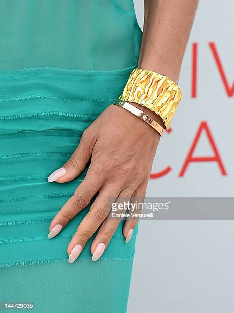 Actress Jada Pinkett Smith attends the Madagascar 3 Europe's Most Wanted Photocall during the 65th Annual Cannes Film Festival at Palais des...