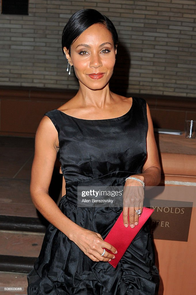 Actress Jada Pinkett Smith attends the U.S. Premiere of Debbie Allen's 'Freeze Frame' at The Wallis Annenberg Center for the Performing Arts on February 4, 2016 in Beverly Hills, California.