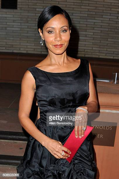 """Actress Jada Pinkett Smith attends the U.S. Premiere of Debbie Allen's """"Freeze Frame"""" at The Wallis Annenberg Center for the Performing Arts on..."""