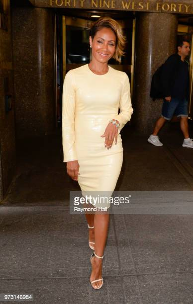Actress Jada Pinkett Smith is seen walking in midtown on June 13 2018 in New York City