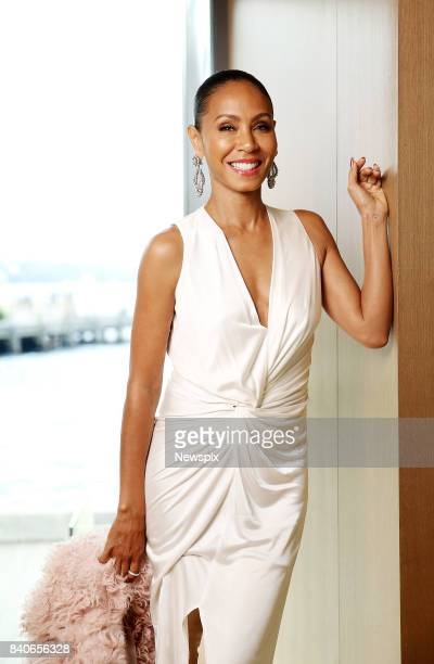 SYDNEY NSW Actress Jada Pinkett Smith poses during a photo shoot in Sydney New South Wales
