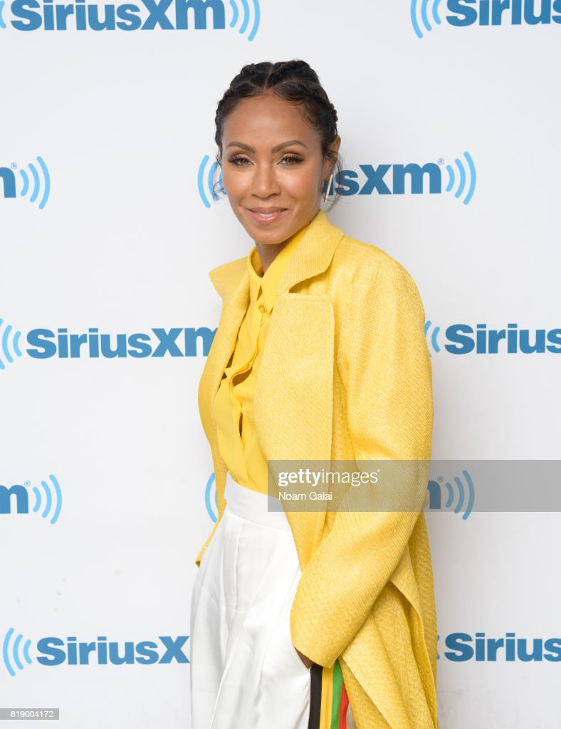 Actress Jada Pinkett Smith visits the SiriusXM Studios on July 19, 2017 in New York City.
