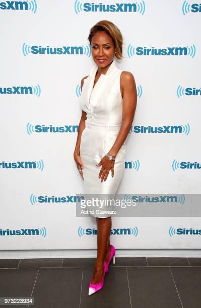 Actress Jada Pinkett Smith visits the SiriusXM Studios on June 13 2018 in New York City