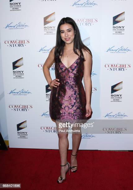 Actress Jade Bender attends the premiere of 'A Cowgirl's Story' at Pacific Theatres at The Grove on April 13 2017 in Los Angeles California