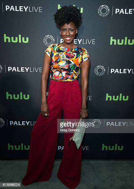 Actress Jade Eshete arrives for the PaleyLive LA Dirk Gently's Holistic Detective Agency Premiere Screening And Conversation at The Paley Center for...