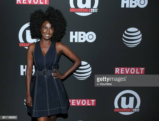 Actress Jade Eshete attends the 21st Annual Urbanworld Film Festival at AMC Empire 25 theater on September 21 2017 in New York City