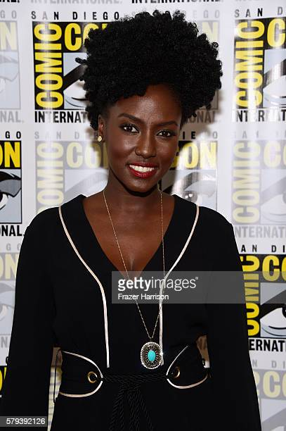 Actress Jade Eshete attends the Dirk Gently press line during ComicCon International on July 23 2016 in San Diego California