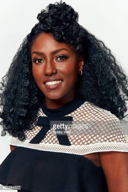 Actress Jade Eshete from BBC America's 'Dirk Gently's Holistic Detective Agency' poses for a portrait during ComicCon 2017 at Hard Rock Hotel San...