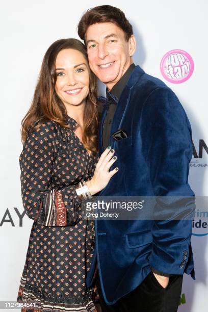 Actress Jade Harlow and Actor / Media Personality BJ Korrow attend the 8th Annual LANY Mixer at Pearl's on February 26 2019 in West Hollywood...