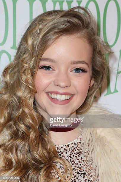 Actress Jade Pettyjohn arrives at the 85th Annual Hollywood Christmas Parade on November 27 2016 in Hollywood California