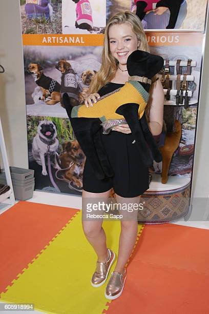 Actress Jade Pettyjohn attends Kari Feinstein's Style Lounge at Siren Studios on September 15 2016 in Hollywood California