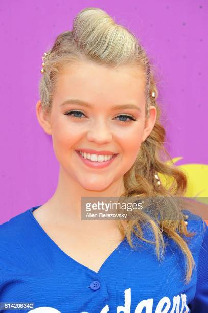 Actress Jade Pettyjohn attends Nickelodeon Kids' Choice Sports Awards 2017 at Pauley Pavilion on July 13 2017 in Los Angeles California