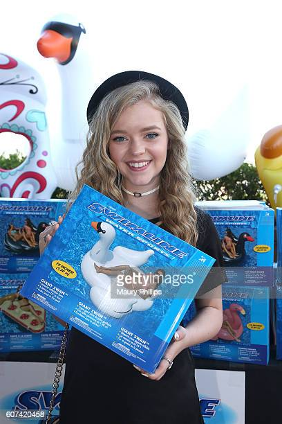 Actress Jade Pettyjohn attends PILOT PEN GBK's PreEmmy Luxury Lounge Day 2 at L'Ermitage Beverly Hills Hotel on September 17 2016 in Beverly Hills...