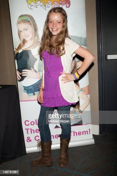 Actress Jade Pettyjohn attends Tattoo Bandz at KIIS FM TCA Gifting Lounge on July 19 2012 in Los Angeles California