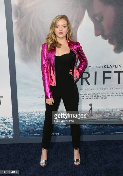 Actress Jade Pettyjohn attends the premiere of STX Films' Adrift at Regal LA Live Stadium 14 on May 23 2018 in Los Angeles California