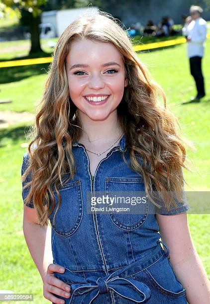 Actress Jade Pettyjohn attends the Say NO Bullying Festival at Griffith Park on August 13 2016 in Los Angeles California