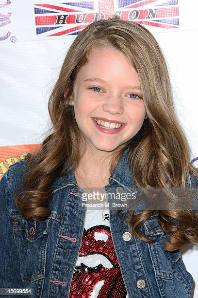 Actress Jade Pettyjohn attends the Sixth Annual Kidstock Music And Arts Festival at Greystone Mansion on June 3 2012 in Beverly Hills California