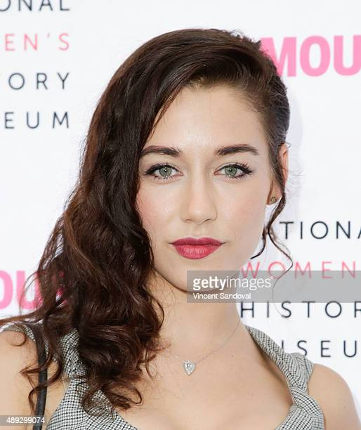 Actress Jade Tailor attends National Women's History Museum's 4th Annual Women Making History brunch at Skirball Cultural Center on September 19 2015...