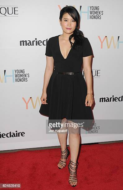 Actress Jadyn Wong arrives at the 1st Annual Marie Claire Young Women's Honors at Marina del Rey Marriott on November 19 2016 in Marina del Rey...