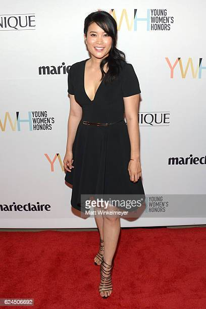 Actress Jadyn Wong attends the 1st annual Marie Claire Young Women's Honors at Marina del Rey Marriott on November 19 2016 in Marina del Rey...