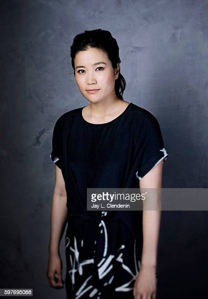 Actress Jadyn Wong of CBS's 'Scorpion' is photographed for Los Angeles Times at San Diego Comic Con on July 22 2016 in San Diego California