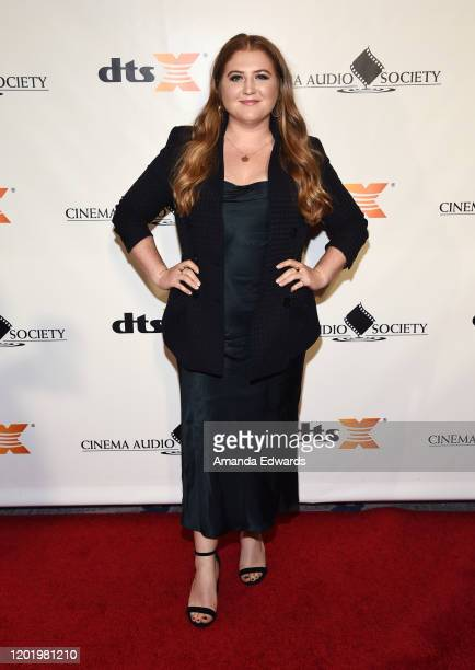 Actress Jaicy Elliot attends the 56th Annual Cinema Audio Society Awards at the InterContinental Los Angeles Downtown on January 25 2020 in Los...