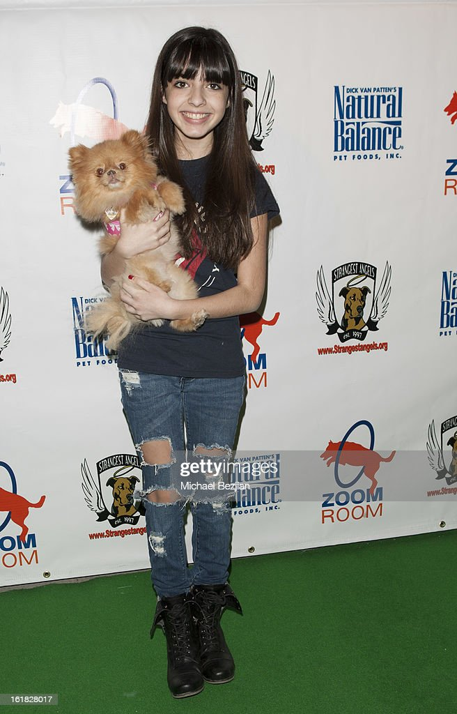 Actress Jaidin Jiron attends Hooray for Hollywoof! Grand Opening and Launch Party for Zoom Room at Zoom Room on February 16, 2013 in Sherman Oaks, California.