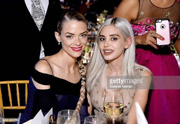 Actress Jaime King and Alexandra Lenas attend the Fifth Annual Baby2Baby Gala Presented By John Paul Mitchell Systems at 3LABS on November 12 2016 in...