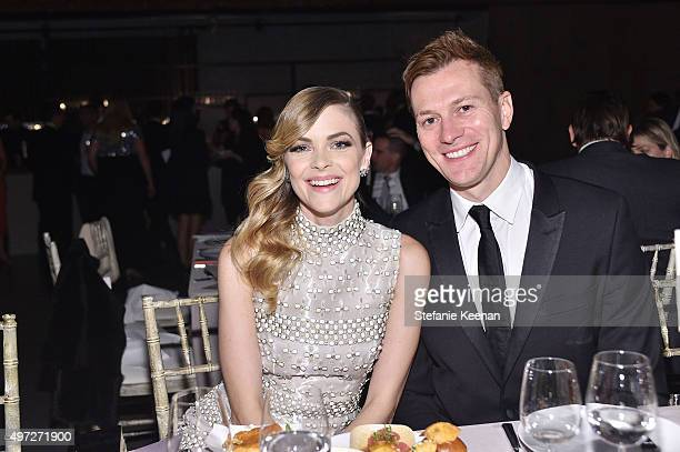 Actress Jaime King and director Kyle Newman attend the 2015 Baby2Baby Gala presented by MarulaOil & Kayne Capital Advisors Foundation honoring Kerry...