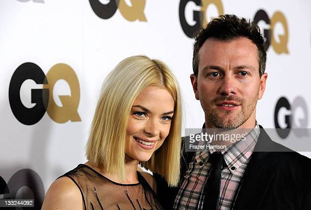 "Actress Jaime King and husband Kyle Newman arrives at the 16th Annual GQ ""Men Of The Year"" Party at Chateau Marmont on November 17, 2011 in Los..."