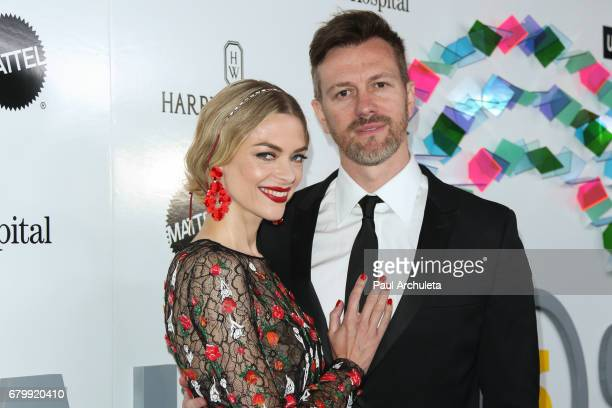 Actress Jaime King and Kyle Newman attend the UCLA Mattel Children's Hospital's Kaleidoscope 5 at 3LABS on May 6, 2017 in Culver City, California.