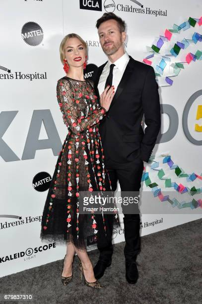Actress Jaime King and Kyle Newman attend UCLA Mattel Children's Hospital's Kaleidoscope 5 at 3LABS on May 6, 2017 in Culver City, California.