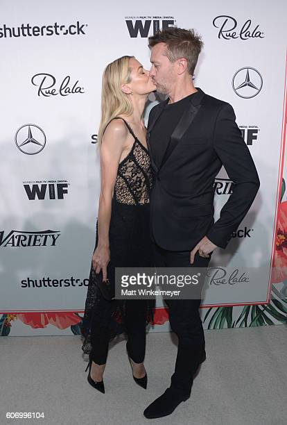 Actress Jaime King and Kyle Newman attend Variety and Women in Film's Pre-Emmy Celebration at Gracias Madre on September 16, 2016 in West Hollywood,...