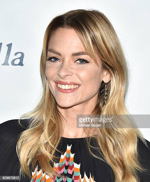 Actress Jaime King arrives at Not For Sale x Z Shoes Benefit at Estrella Sunset on December 9, 2016 in West Hollywood, California.
