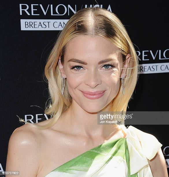 Actress Jaime King arrives at Revlon's Annual Philanthropic Luncheon at Chateau Marmont on September 27 2016 in Los Angeles California