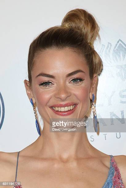Actress Jaime King arrives at The Art of Elysium presents Stevie Wonder's HEAVEN celebrating the 10th Anniversary at Red Studios on January 7 2017 in...