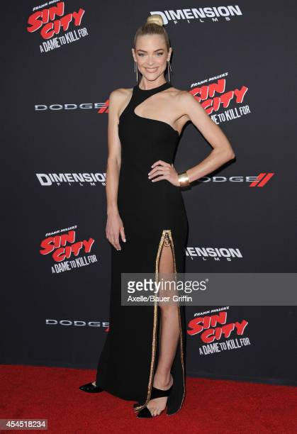 Actress Jaime King arrives at the Los Angeles premiere of 'Sin City A Dame To Kill For' at TCL Chinese Theatre on August 19 2014 in Hollywood...