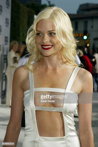 Actress Jaime King arrives at the premiere of Revolution Studio's and Columbia Picture's White Chicks at the Village Theatre on June 16 2004 in Los...