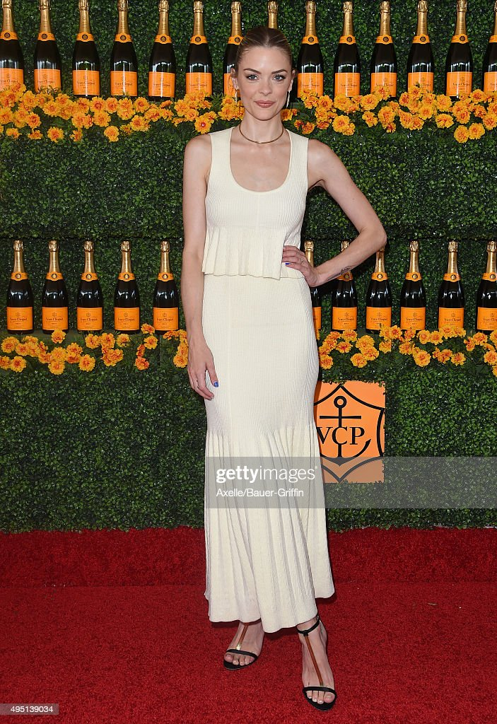 Actress Jaime King arrives at the Sixth-Annual Veuve Clicquot Polo Classic, Los Angeles at Will Rogers State Historic Park on October 17, 2015 in Pacific Palisades, California.
