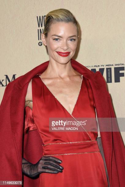 US actress Jaime King arrives for the 2019 Women in Film Annual Gala at the Beverly Hilton hotel in Beverly Hills on June 12 2019