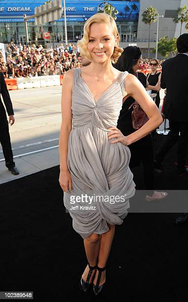 """Actress Jaime King arrives to the premiere of Summit Entertainment's """"The Twilight Saga: Eclipse"""" during the 2010 Los Angeles Film Festival at Nokia..."""