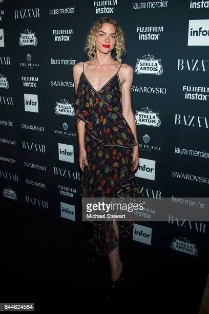 Actress Jaime King attends 2017 Harper's Bazaar Icons at The Plaza Hotel on September 8 2017 in New York City