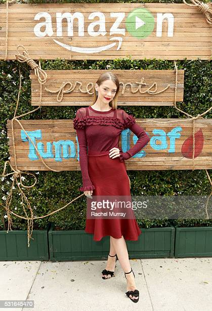 Actress Jaime King attends Amazon Original Series Tumble Leaf season two celebration on May 15 2016 in Los Angeles California