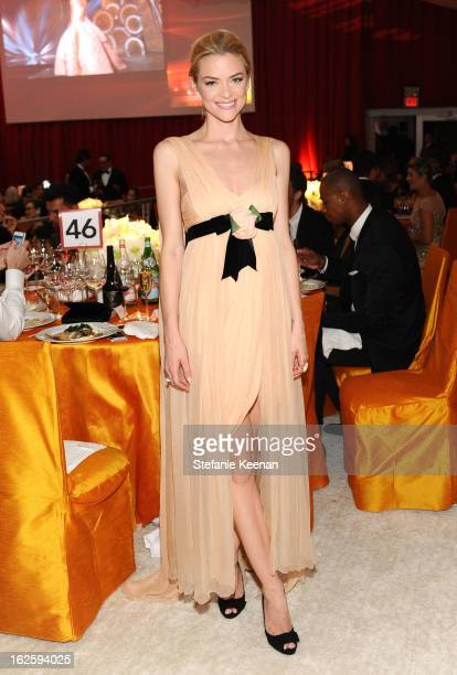 Actress Jaime King attends Chopard at 21st Annual Elton John AIDS Foundation Academy Awards Viewing Party at West Hollywood Park on February 24 2013...