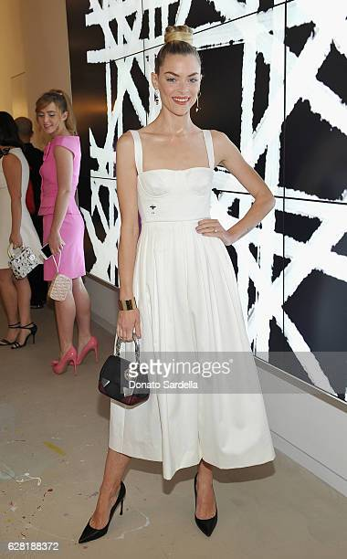 Actress Jaime King attends Dior Lady Art Los Angeles Popup Boutique Opening Event on December 6 2016 in Beverly Hills California