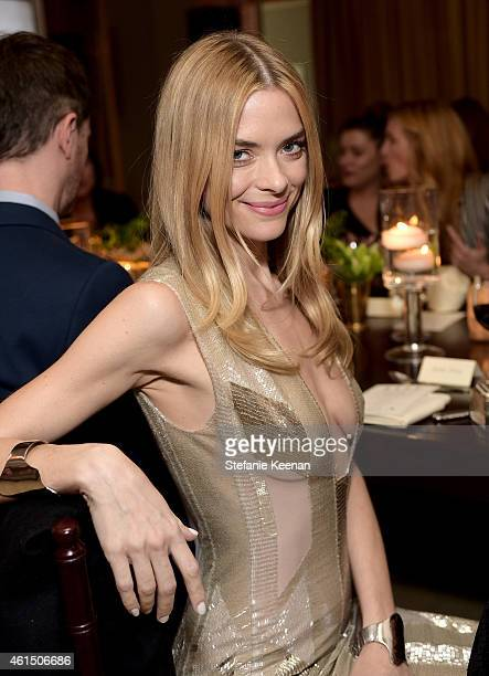 Actress Jaime King attends ELLE's Annual Women in Television Celebration on January 13 2015 at Sunset Tower in West Hollywood California Presented by...